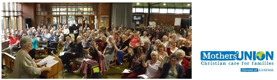 Welcome to Mothers' Union in the Diocese of Lichfield